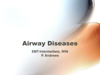 Airway Diseases