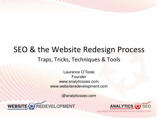 SEO & the Website Redesign Process