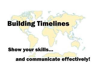 Building Timelines