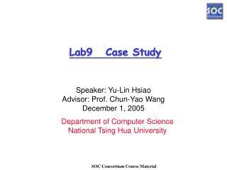Lab9   Case Study