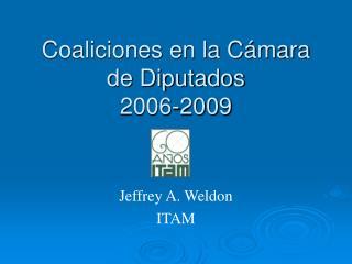 Coaliciones en la Cámara de Diputados 2006-2009