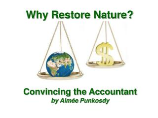 Why Restore Nature?