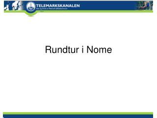 Rundtur i Nome
