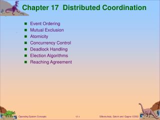 Chapter 17  Distributed Coordination