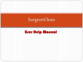 SurgeonClean