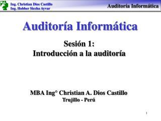 Auditor a Inform tica