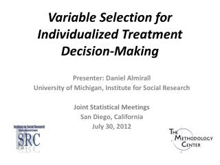 Variable Selection for Individualized Treatment Decision-Making
