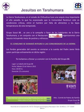 Jesuitas en Tarahumara