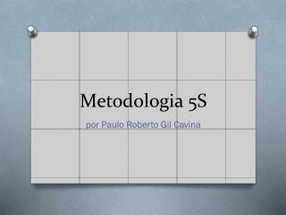 Metodologia 5S