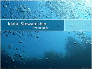 Idaho Stewardship