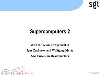 Supercomputers 2