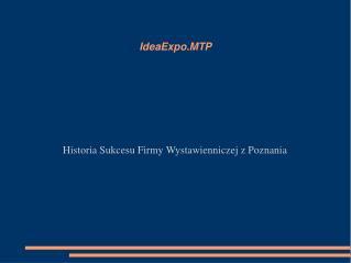 IdeaExpo.MTP
