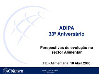ADIPA 30º Aniversário