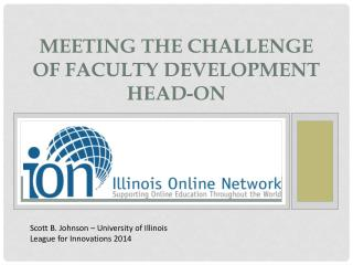 Meeting the Challenge of Faculty Development Head-on