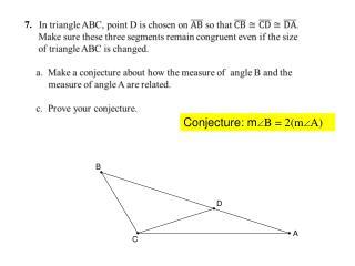 Conjecture: m  B = 2(m  A)