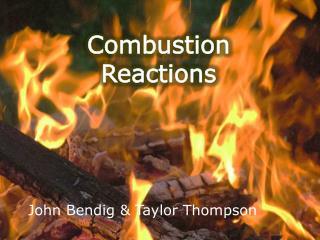 John Bendig & Taylor Thompson