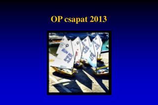 OP csapat 2013