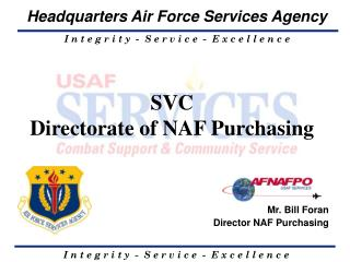 SVC  Directorate of NAF Purchasing