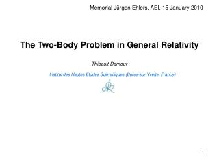 The Two-Body Problem in General Relativity