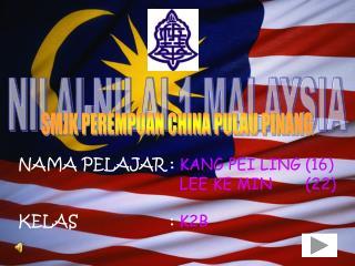 NILAI-NILAI 1 MALAYSIA