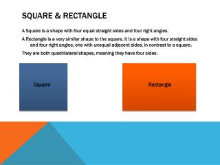 Square & rectangle