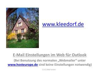 kleedorf.de
