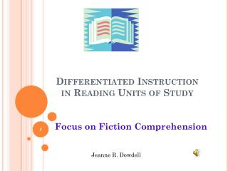 Differentiated Instruction  in Reading Units of Study