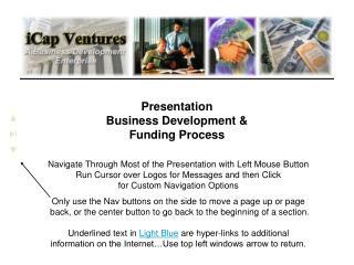 Presentation Business Development &  Funding Process