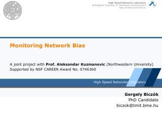 Monitoring Network Bias