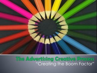 The Advertising Creative Process