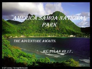 America Samoa National Park