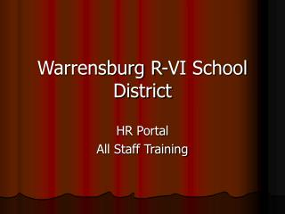 Warrensburg R-VI School District