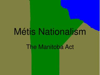 Métis Nationalism