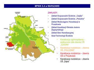 MPWiK S.A w WARSZAWIE
