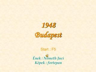 1948 Budapest