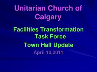 Unitarian Church of Calgary