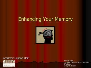 Enhancing Your Memory