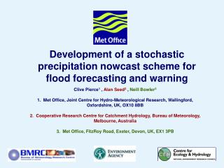 Development of a stochastic precipitation nowcast scheme for flood forecasting and warning