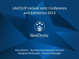 LAI/CILIP Ireland Joint Conference and Exhibition 2013