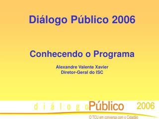 Diálogo Público 2006