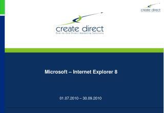 Microsoft – Internet Explorer 8