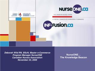 NurseONE… The Knowledge Beacon