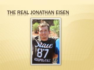 The real Jonathan  Eisen