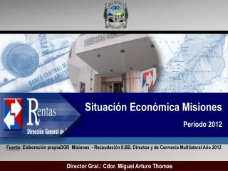 Situación Económica Misiones Periodo 2012