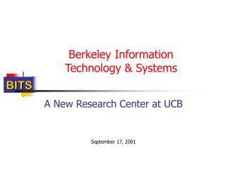 Berkeley Information Technology & Systems