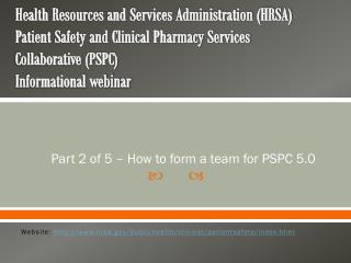 Part 2 of 5 – How to form a team for PSPC 5.0
