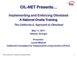 CIL-NET Presents�