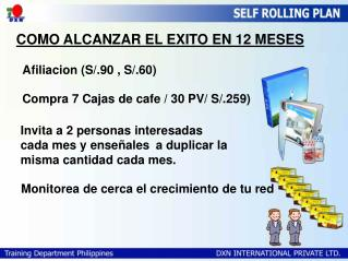COMO ALCANZAR EL EXITO EN 12 MESES