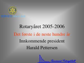 Rotaryåret 2005-2006