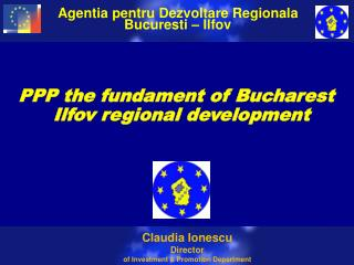 PPP the fundament of Bucharest Ilfov regional development